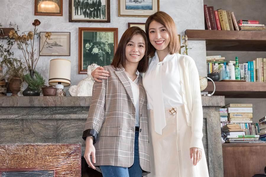 楊謹華、宋芸樺在《明晚・空中見》演一對母女。福斯提供
