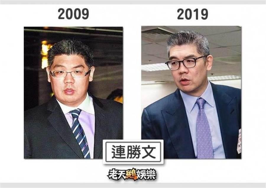 連勝文瘦身有成(圖片提供/老天鵝娛樂)