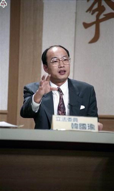 立委時期的韓國瑜(圖片取自/中時記者 蔡慧娜攝)