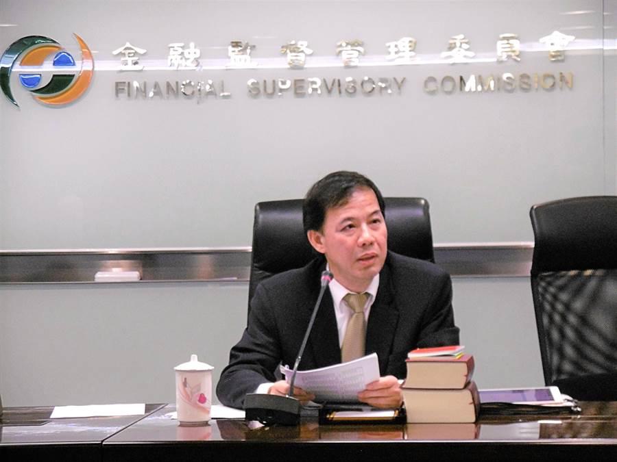金管會公布最新陸資炒股大同調查結果,圖為證期局副局長張振山。(林資傑攝)