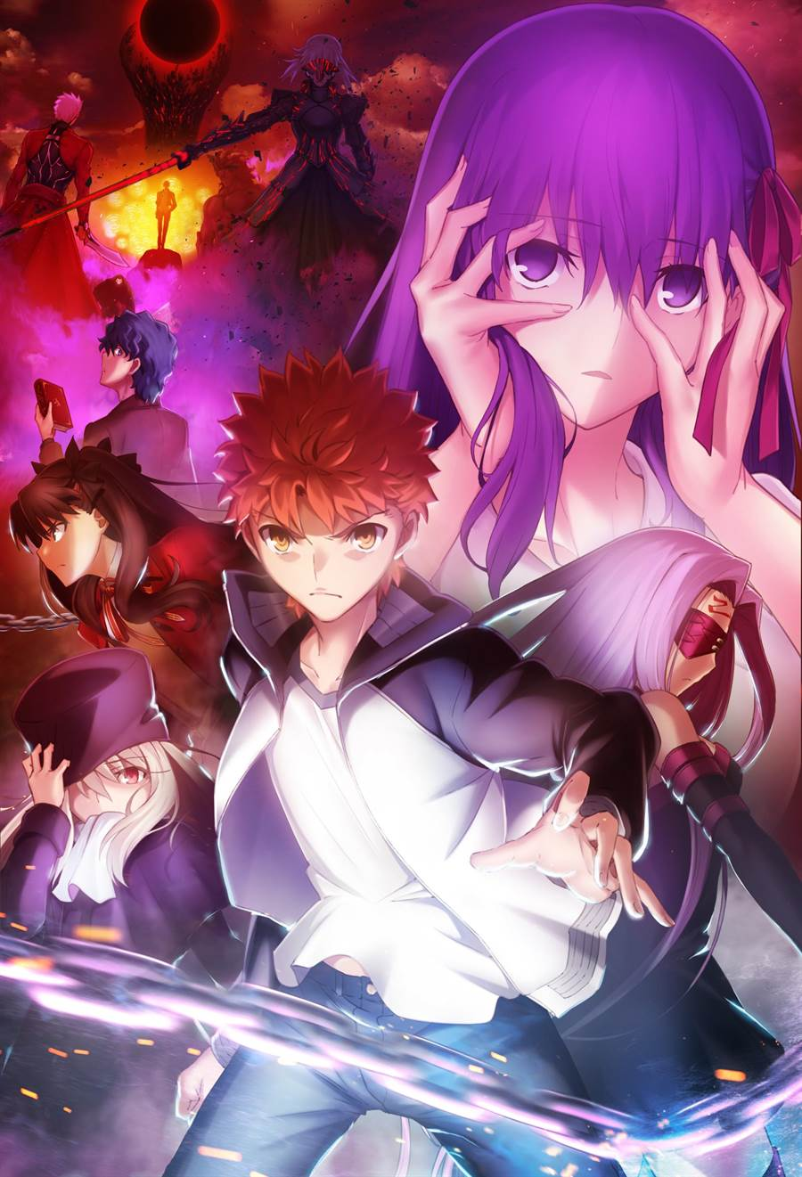 《Fate/staynight[Heaven'sFeel]II.迷途之蝶》宣傳海報。(曼迪提供)