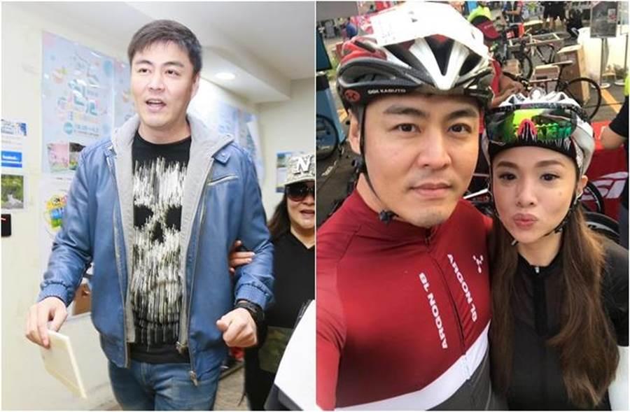 劉至翰和Vivian已簽字離婚。(圖/中時資料照片;翻攝自劉至翰臉書)