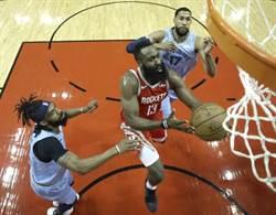 NBA》場場燃燒 哈登會被火箭操掛嗎?
