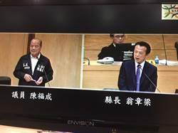 翁章梁宣布調降20%房屋稅 縣議員:過急就章