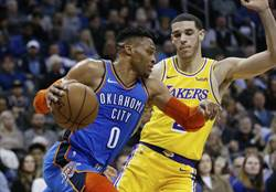 NBA》湖人小將夠爭氣 延長險勝重返西區第8