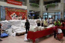 溫馨過好年!中和區公所發放白米照顧弱勢
