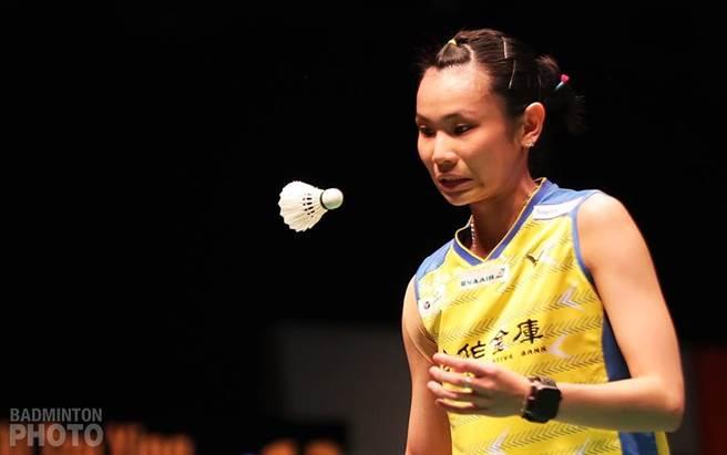 戴資穎在大馬大師賽8強連兩局先盛後衰,不敵依瑟儂。(badminton photo提供)