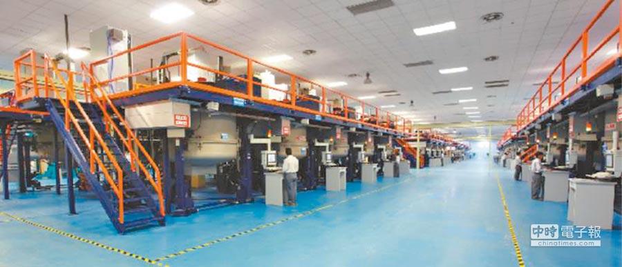 江蘇協鑫材硅料科技發展有限公司鑄錠生產線。