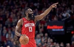 NBA》21次單周最佳 哈登超越歐尼爾史上第八