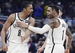 NBA》籃網又演逆轉秀 這次換靠丁維迪四分打