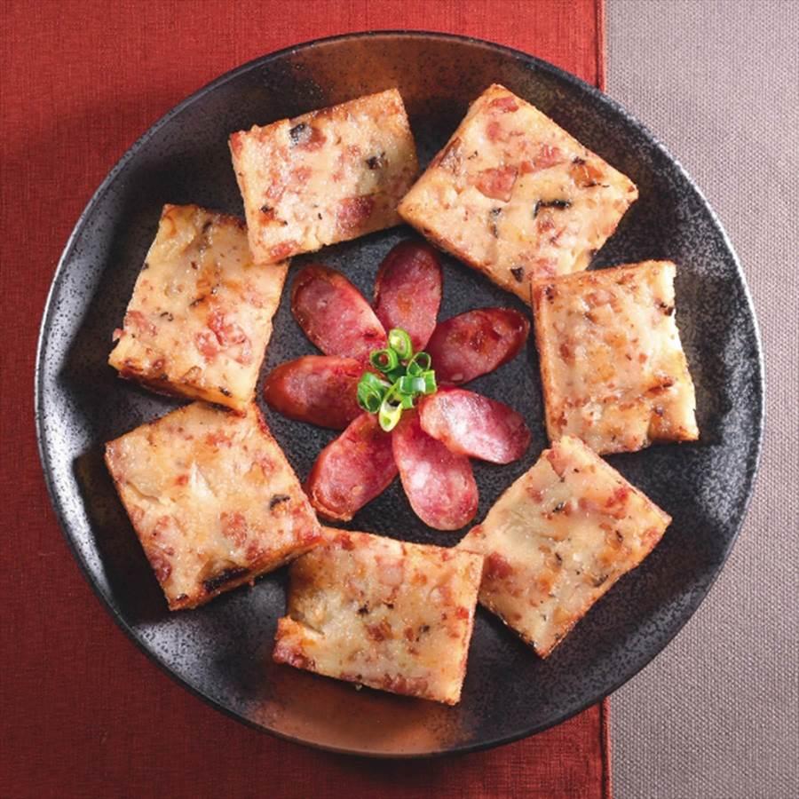 黑橋牌「香腸蘿蔔糕」,因口感綿密,獲2018年農委會頒發銀髮族友善食品。圖/業者提供