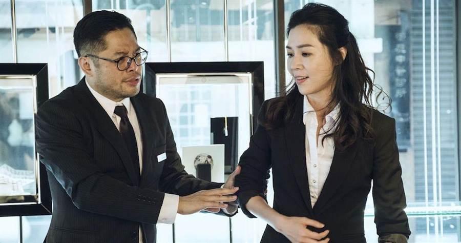 謝盈萱在《魂囚西門》被黑道男鬼附身。(公視提供)