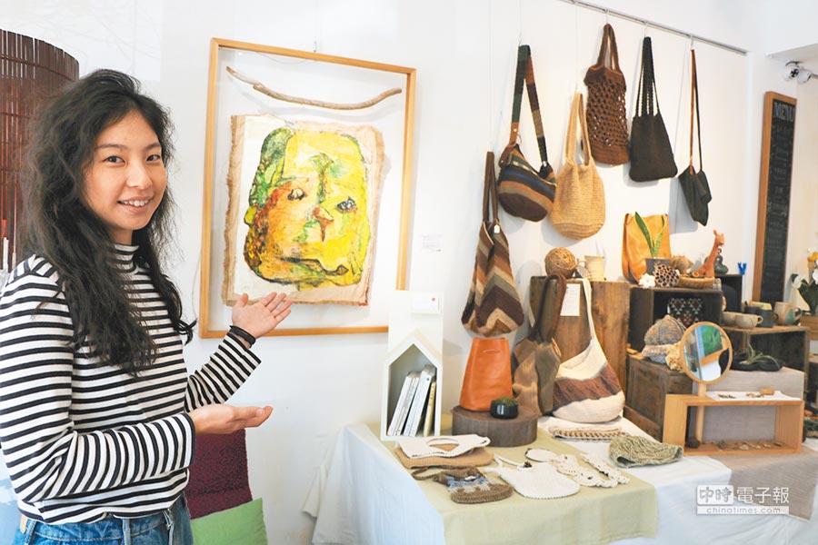 台灣最南端的藝廊「恆好畫廊」,是由低調的恆春女婿莊哥與太太惠姊所打造。(謝佳潾攝)