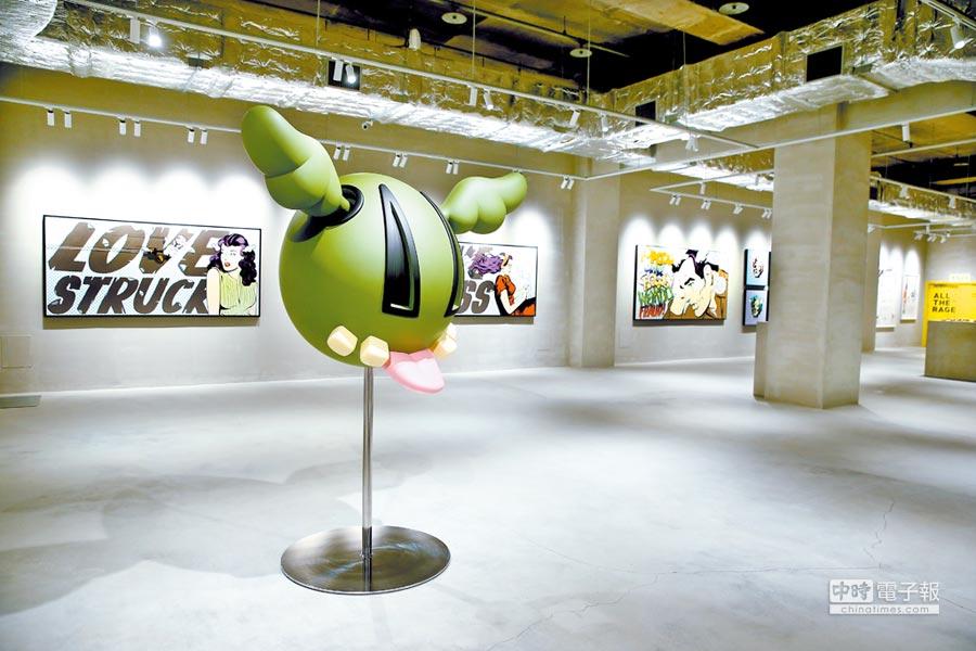 展場空間,中指哥、D*Dog等知名作品全數出線。圖片提供各品牌