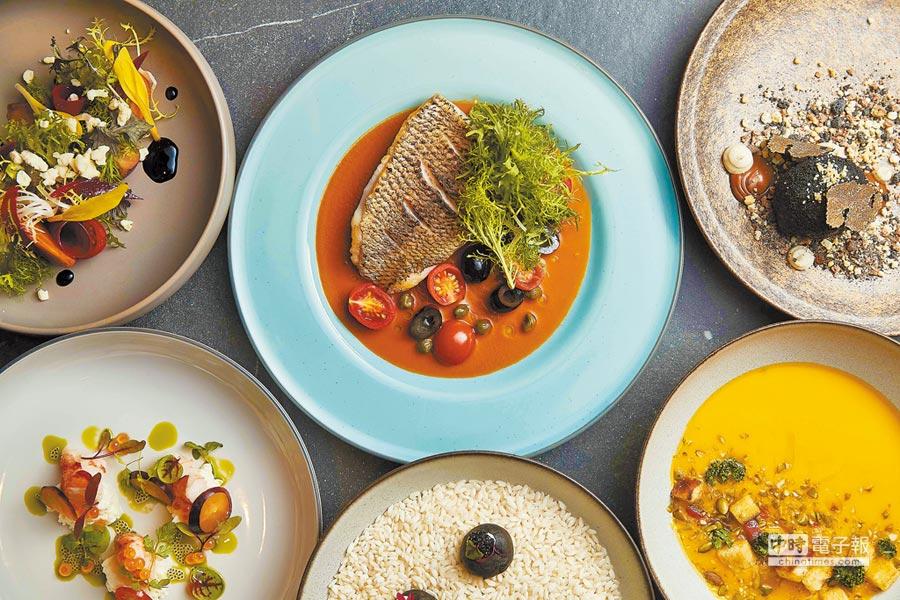 西華飯店限定藝術套餐,每口吃下都是感動。圖片提供各品牌