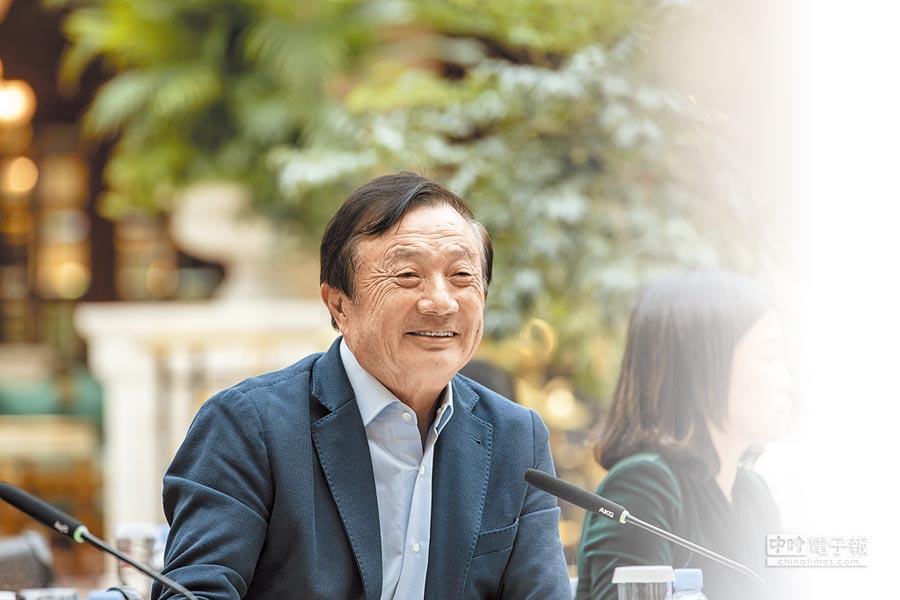 1月15日,華為創辦人任正非在廣東深圳總部接受媒體採訪。(CFP)