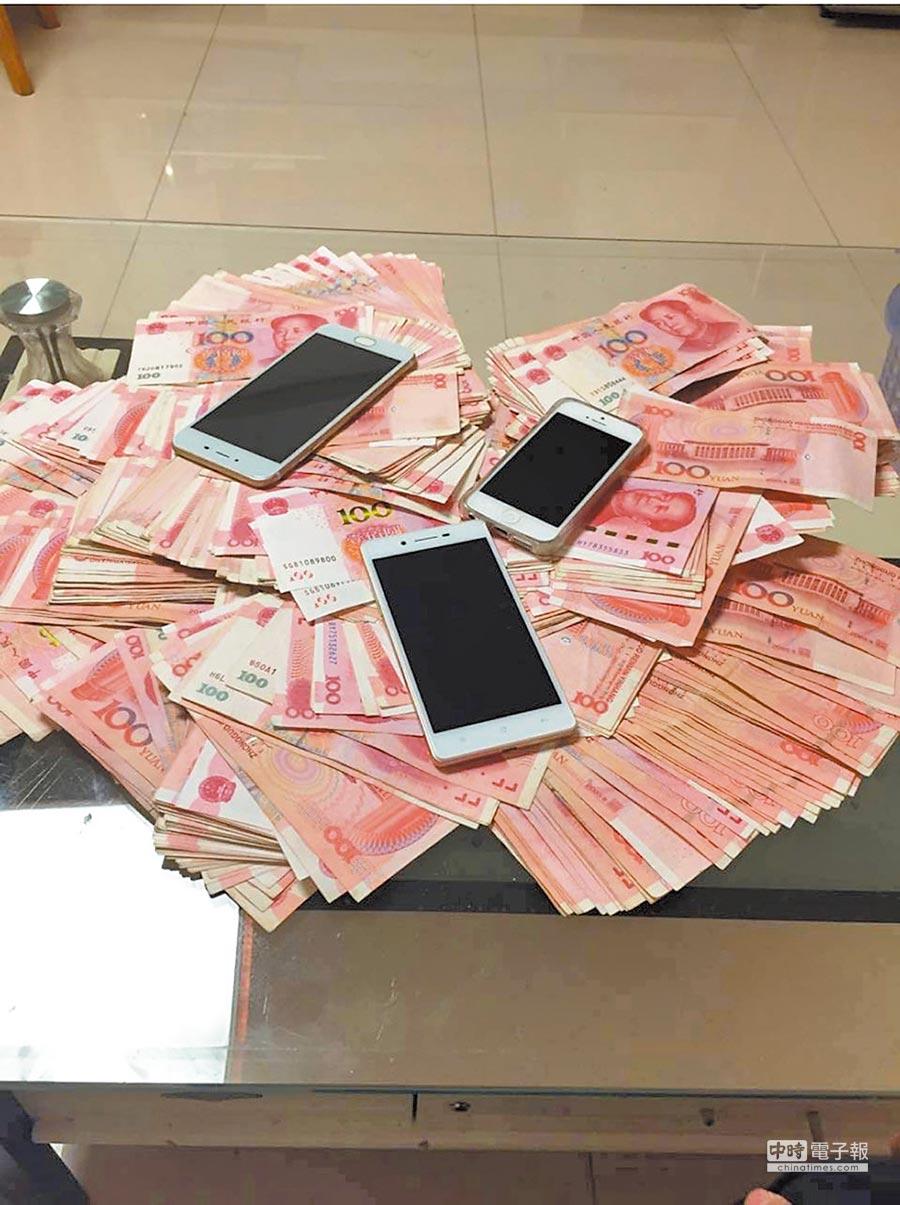 電信詐騙集團每年詐取大陸多達百億元人民幣。(孫曜樟翻攝)