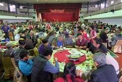 佛祖請吃飯 台南席開百桌宴請弱勢團體