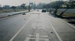 影》大學情侶機車遊安平 卻意外撞車1死1重傷