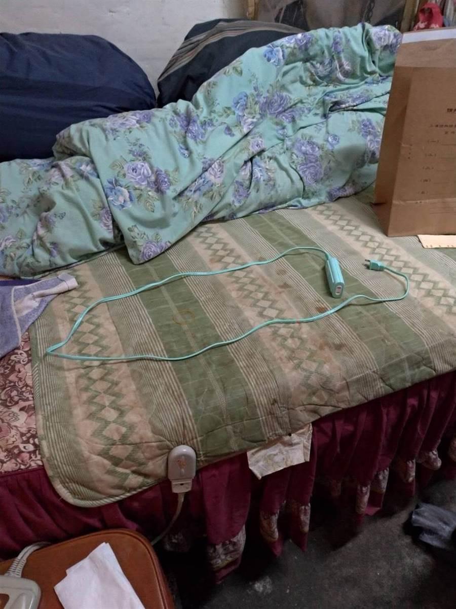 新北三峡发生儿子用电线勒死母亲人伦悲剧。(叶德正翻摄)