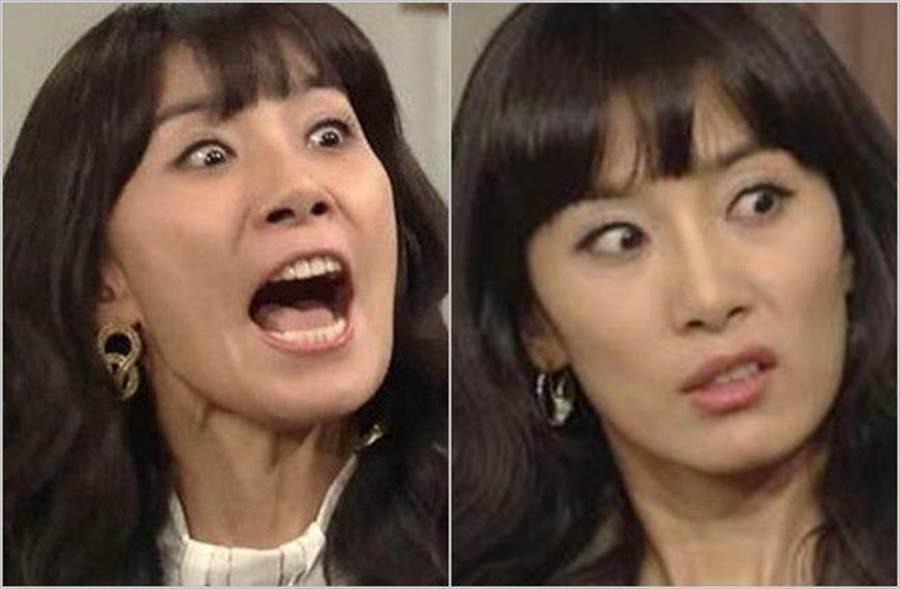 《妻子的誘惑》惡女「申艾莉」金瑞亨近期在新戲《SKY castle》再度飆戲。(圖/翻攝自韓網)