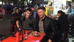 外籍Youtuber訪台南英語友善夜市  挑戰老外聞風喪膽道地美食