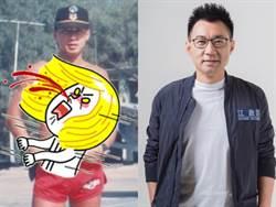 24年前舊照曝光!江啟臣曬「蛙人大肌肌」女粉暴動