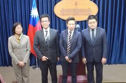 溝通府院黨 張惇涵正式出任總統府發言人
