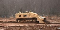 清除地雷更安全 美軍測試 M160無人掃雷車