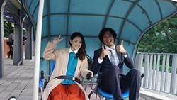 日本影星青木崇高當主角 深澳鐵道自行車主題片超美
