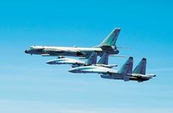 蘇-35跨晝夜訓練 巡航南海要角
