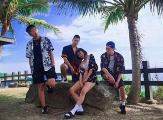 三男大戰一女!饒舌團體拍MV傳台東樹下野戰