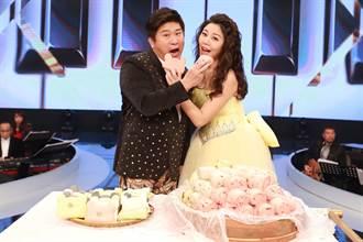 《台灣那麼旺》收視再奪冠 胡瓜、白家綺吃饅頭慶功