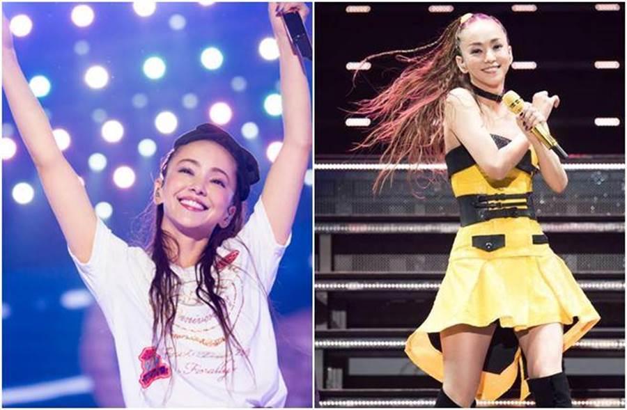 安室奈美惠在去年9月16日正式引退。(圖/翻攝自日網)