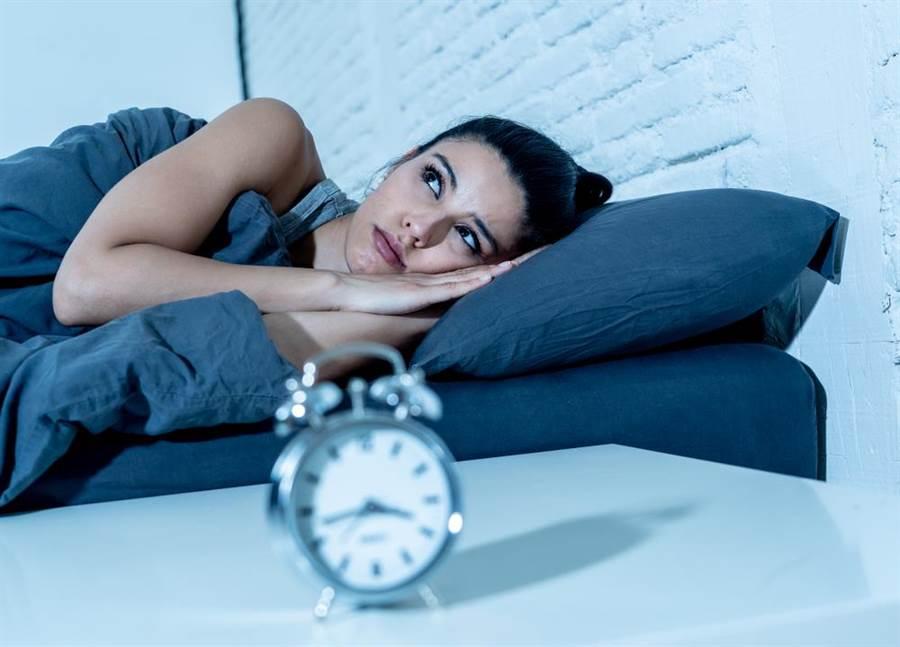 失眠示意圖。(圖/達志影像)