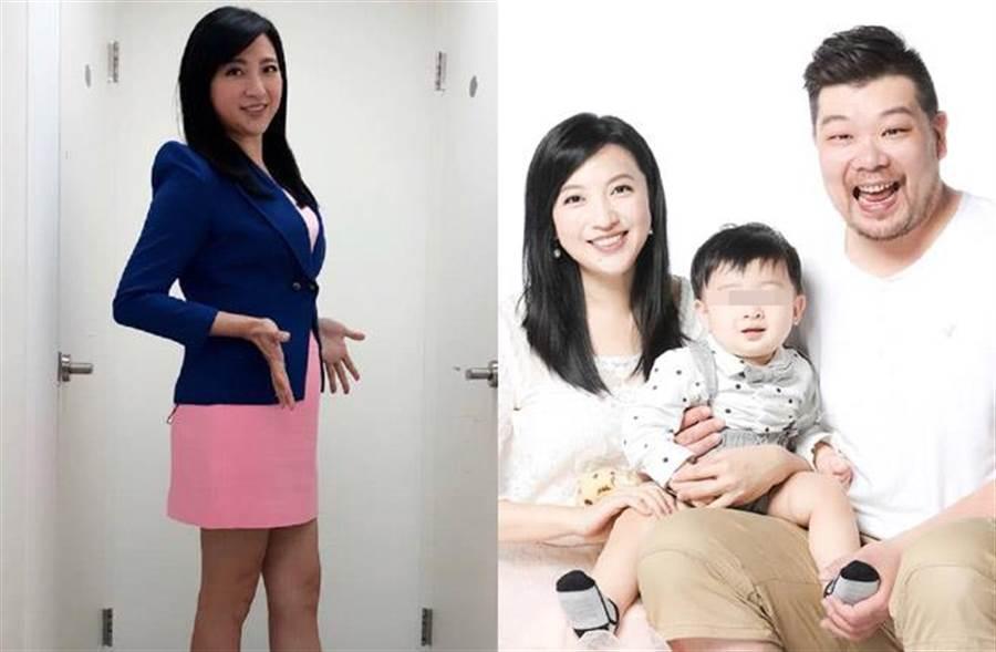 主播陳乃瑜挺著明顯孕肚,但半個月來從沒遇到有人讓座,讓她好心寒。(取材自陳乃瑜臉書)