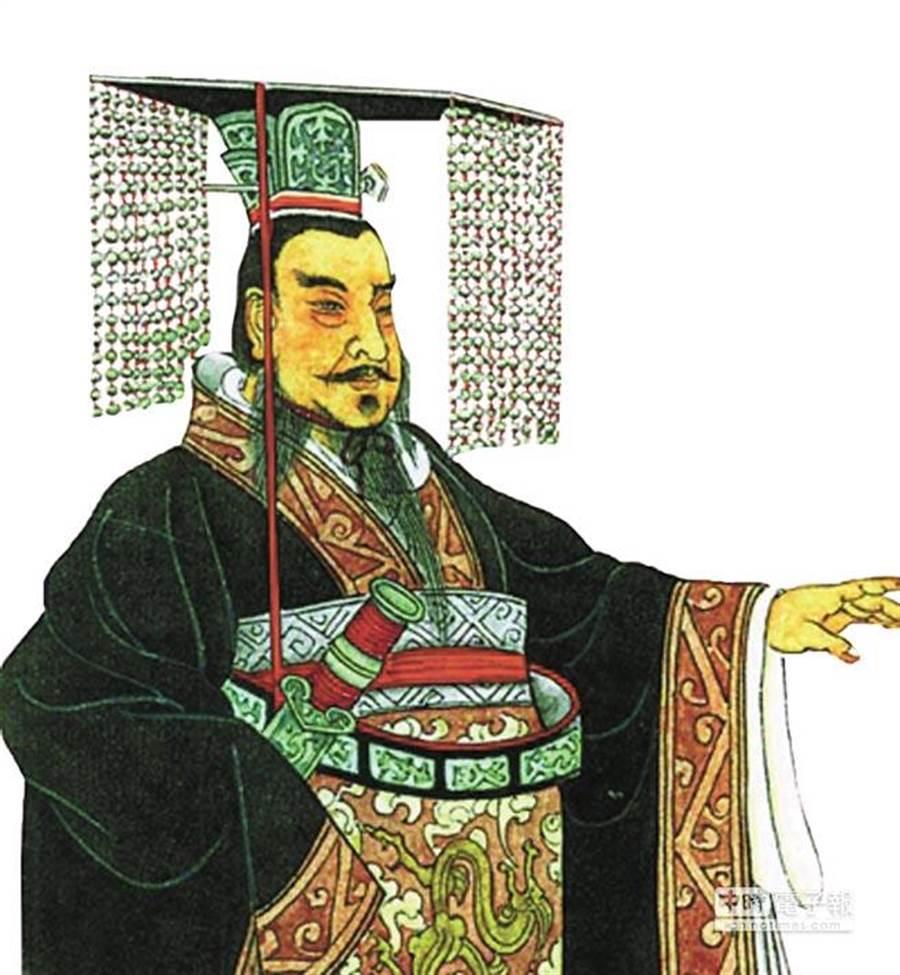 秦始皇(圖片取自/中時電子報資料庫)