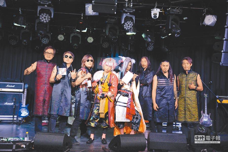 董事長樂團昨宣布與日本樂團「妖之鬼狐」台日雙語合唱。