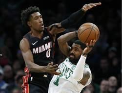 NBA》厄文8抄截創生涯最佳 綠衫軍澆熄熱火