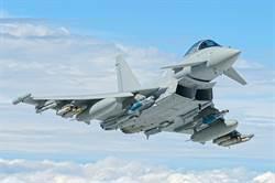 身價32億颱風也癱瘓 英1/3戰機飛不了