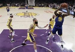 NBA》浪花弟10顆三分 勇士擊潰湖人輕取8連勝