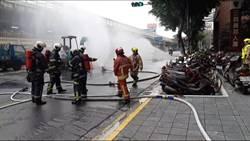 北市建國北路二段瓦斯外洩 緊急疏散近千人