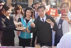 新化年貨大街本周六登場 黃偉哲當老饕試吃美食