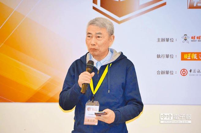 北京師範大學人文宗教高等研究院常務副院長朱小健出席兩岸大學生文化體驗營開幕式並致詞。(記者王勝修攝)