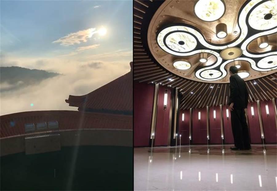 內部裝潢不僅經過設計,甚至還有寬廣的景色(圖翻攝自/Dcard)