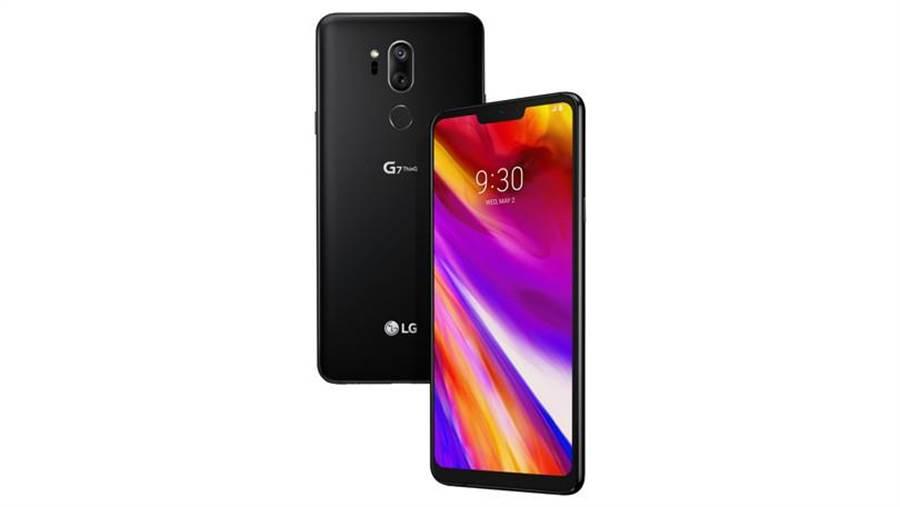 LG G7 ThinQ 官方圖片。(圖/LG官網)