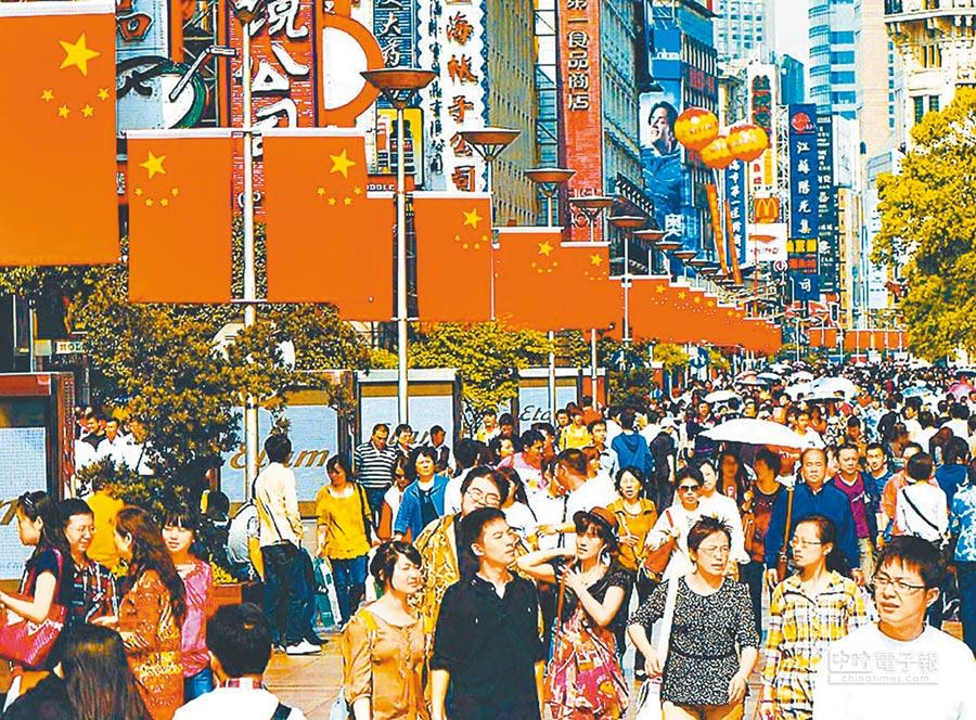 大陸人口逼近14億,男比女多3164萬人。(新華社資料照片)