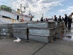 年關近 南檢查獲漁船接駁走私大陸漁貨5000公斤