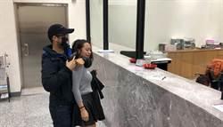 中市警二分局防搶微電影 員警「搶劫」低聲要正妹LINE