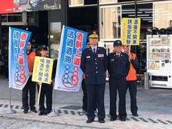 中市警六分局日間封鎖式路檢 掃蕩酒駕